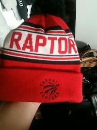 red and white Raptor beanie Delta, V4C 2Z6