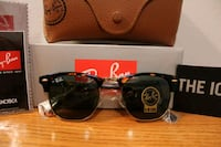 RAY-BAN RB 3016 W0366 TORTOISE CLUB-MASTER  Springfield