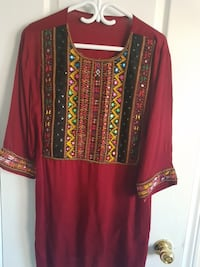 red and black long-sleeved top Whitby, L1R 3R4