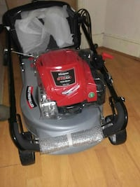 red and gray lawnmower Londres, SE15
