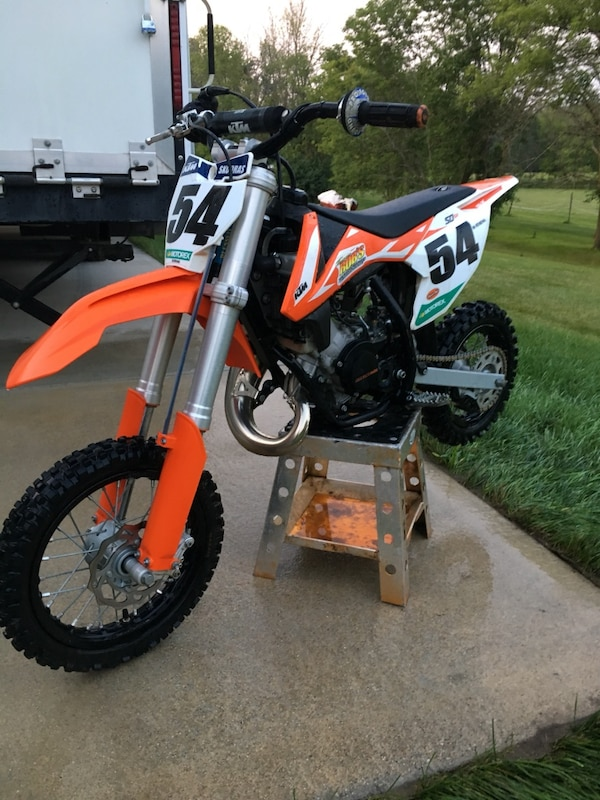 2017 KTM 50cc sr dirt bike race ready!!!