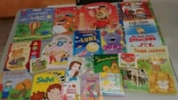 toddler's assorted story books Saint-Charles-Borromée, J6E 2A5