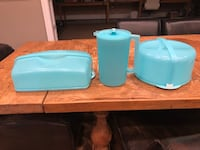 Original Tupperware cake takers and pitcher - $60 for set of 3 Ellicott City, 21042