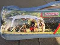 """Coleman Geosport Shade with UVGUARD PROTECTION 16' x 16' x 96"""" Riverside"""