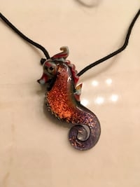Glass sea horse necklace Virginia Beach, 23462