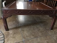 rectangular brown wooden coffee table Youngtown, 85363