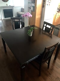 Solid Wood Square Dining Table with 8 Chairs Toronto, M4J 4E9