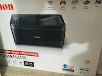 Canon pixma MX490 rarely used printer in new condition Herndon, 20171