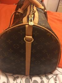 Brown and white louis vuitton leather tote bag Richmond, 94804