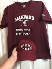 Champion Harvard tee and hat size small New Westminster, V3M 1B9