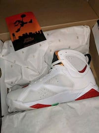 Men's retro Jordans hare 7s ds