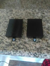 two black 250GB memory cards
