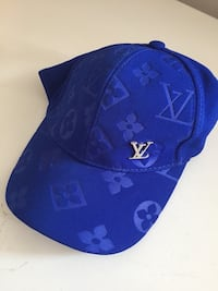 blue and white fitted cap Toronto, M6P 1A3