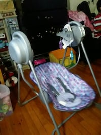 white and gray stationary bike East Riverdale, 20737