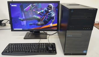 i7-2600 Fortnite Gaming Tower 120GB SSD 1TB HDD 16GB RAM