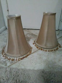 two brown wooden candle holders Glendale, 85308