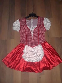SEXY BAR MAID HALLOWEEN COSTUME LADIES SIZE MEDIUM St. Catharines