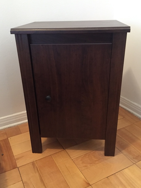 Used Ikea Brusali Nightstand Brown For Sale In Montréal Letgo