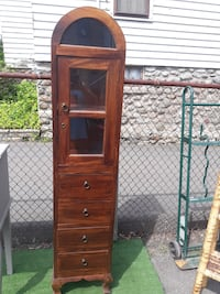 Hand crafted wooden curio