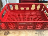 Vintage Coca Cola Crate Ruby Red, Great Condition