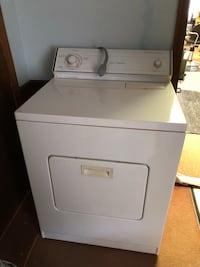 White front-load clothes dryer Augusta, 30907