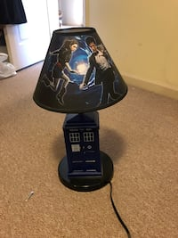 Doctor who lamp Vancouver, V6P 3T5