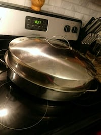 Stainless Steel 28quart cooking pot with lid LaPlace, 70068