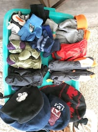 Kids hats and mitts. more added not in picture Midland, L4R 2J9