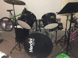 Black drums for adults