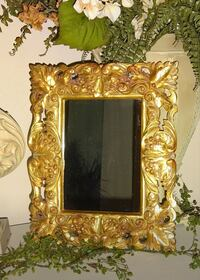 FIRM PRICE ⭐ Ornate Gold Decor Mirror  Oklahoma City, 73012
