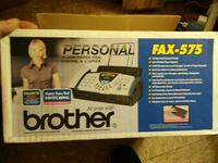 Brother Personal Plain Paper fax box