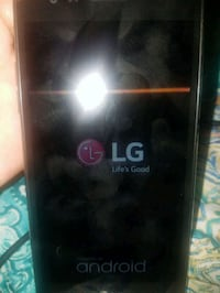 black LG android smartphone Washington, 20011