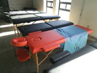 """Brand new wooden portable Eyelash massage table bed 23.5"""" wide with accessories and carrying bag 多伦多, M8V 1X8"""