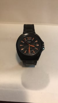 Black and Orange Orlean watch Waterloo