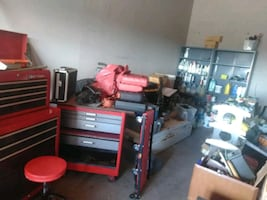STORAGE FULL OF TOOLS BEST OFFER TAKES IT ALL