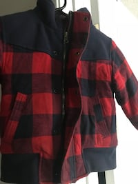red and black plaid button-up shirt Los Angeles, 91602