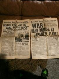 1991 ww2 news papers Parkville, 64152