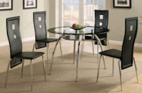 HOT OFFER!! 5 PCS DINING SET (TABLE + 4 CHAIRS) -O Henderson, 89011