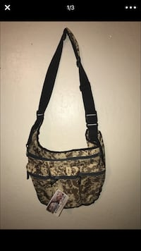 Brown and black camouflage diaper bag Glendale, 85302