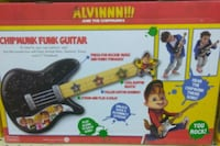 Brand new Alvin and chipmunks funk guitar Gainesville, 32605