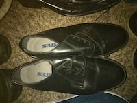 pair of black leather dress shoes Houston, 77040