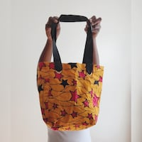 African fabric handmade  bag