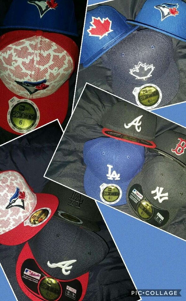 Kids fitteds -blue jays, atlanta, yankees, LA