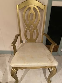 Decorative Gold Chair Trumbull, 06611