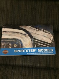 2014 hd sportster manual book