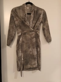Aritzia Wilfred Snake-Print Wrap Dress 539 km