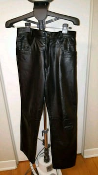 Leather pants by Dimitri Laval, H7P 2M7