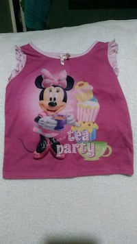 Minnie mouse top size 24 months