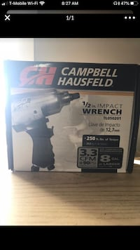 Campbell 1/2in Impact Wrench