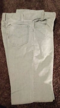 white denim straight-cut jeans 469 mi